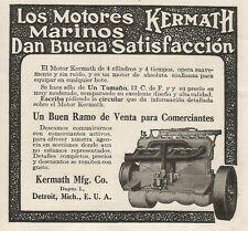 W5256 Los Motore Marinos KERMATH - Pubblicità 1913 - Advertising