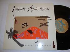 LAURIE ANDERSON :  MISTER HEARTBREAK Original WB Album