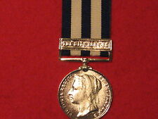 FULL SIZE EGYPT MEDAL 1882 WITH NILE CLASP MUSEUM COPY WITH RIBBON.