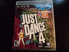 Replacement Case (NO GAME) JUST DANCE 4 PLAYSTATION 3 PS3