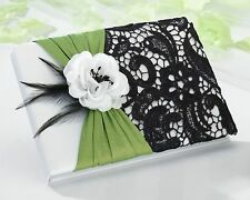Green and Black Guest Book (55 pages, 990 signatures)