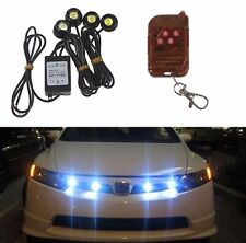 New Car Strobe 4 LED Hazard Emergency Warning Traffic Advisor Flash Light Kit