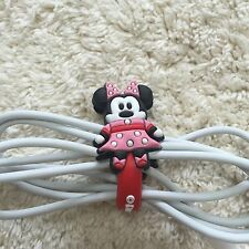 Silicon Cable Wire Earphone Headphone Cable Tie Cord Holder Cartoon Organizer 3
