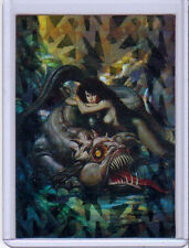 1993 COMIC IMAGES BORIS 3 ALL-PRISM CARD #36 HESPERIDES AND LADON THE DRAGON