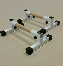 Parallettes gymnastics equipment gymnastics bars Strength conditioning.NEW