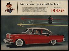 1955 DODGE Custom Royal Lancer 4 Door Sedan - Car - VINTAGE AD