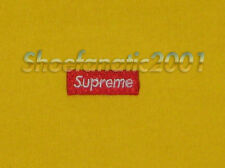 Supreme Small Box Logo Tee Shirt L Blazer Box Logo Dipset Tyson Air Force Yellow