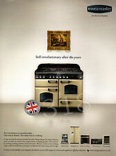RANGEMASTER Range Cooker ADVERT - 2010 AGA Company Advertisement