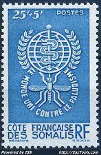 COTES DES SOMALIS N° 304 NEUF * AVEC CHARNIERE (BL)