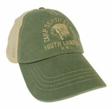 Polo Ralph Lauren Men's  Trucker Baseball Cap Hat Mesh Green Camp Sentinel Rock