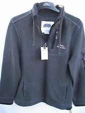 Weird Fish. 1/4 Zip Licorice Deluxe Tech Macaroni Sweatshirt. Medium RRP £70