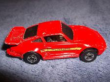 HOT WHEELS 1989 RED PORSCHE 930 TURBO