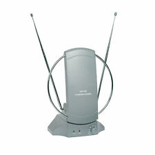 Indoor TV Aerial -DVB Digital Freeview HD- Booster 36db