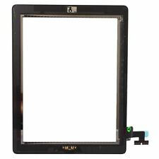 Black Touch Screen Digitizer With Home Button+Adhesive+Camera Bracket for iPad 2