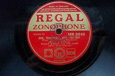 WALLY BISHOP 78 RPM RIDE, TENDERFOOT, RIDE REGAL ZONOPHONE MR 2848