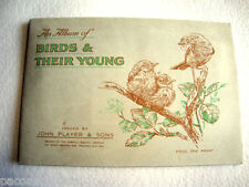 1935 VECCHIO RARO ALBUM DI FIGURINE UCCELLI E I LORO CUCCIOLI BIRDS THEIR YOUNG