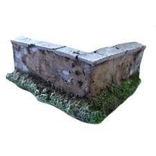 Scenery - Wargame - Wall corner - ES42 - UNPAINTED