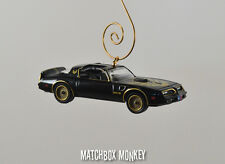 Smokey and the Bandit 1977 Trans Am Firebird Bandit Christmas Ornament 1/64 T/A