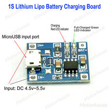 5V Micro USB 1A 3.7v 4.2v Lithium Battery Charging Lipo Charger Module Board