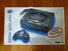 Sega Saturn boxed console system lot