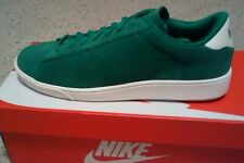 $85 Nike Tennis Classic CS Suede Green Ivory Mens Shoes size 9 St Patrick's Day