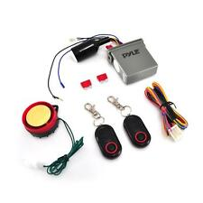 New Motorcycle Alarm Security System & Auto Start Remote w/Water Resistant ECU