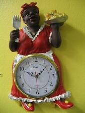 Clock Aunt Jemima 3D BIG wall clock # 114