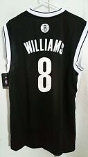 Adidas NBA Jersey Nets Deron Williams Black sz L