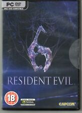 Resident Evil 6   'New & Sealed'  (PC-DVD)