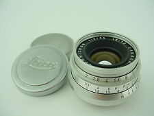 Leica 35mm f/2 Summicron 8 elements Leitz Canada #1655708 M39 Screw Mount - RARE