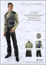 *Brand New* Dollsfigure 1:6 Male Shirt, Vest, Pants, & Neckerchief *US Seller*
