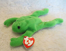 TY Beanie Baby Original LEGS the Frog 1993 - PVC - RARE - MAKE A VERY GOOD OFFER