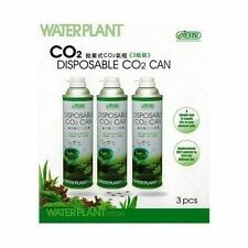 3 pack ista waterplant jetables Co2 peut bouteille live aquarium plant 3 cans