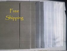 10 Metallic Pewter Grey A7 Envelopes