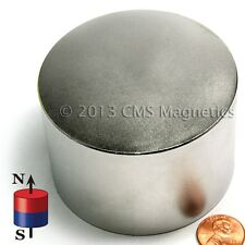 "1 PC N42 3x2"" NdFeB Strong Neodymium Disk Magnets"