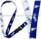 LOS ANGELES DODGERS 2-IN-1 OFFICIAL MLB LANYARD KEYCHAIN ID HOLDER