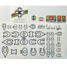 Ciocc decal set  for Italian vintage bike resto new multiple choices!!
