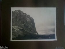A1020 Photographie Originale Italie Les dolomites montagne ancienne photo
