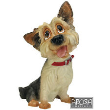 Arora Pets with Personality Rufus Yorkie Large Figurine Dog Lovers Gift Boxed
