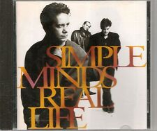 CD ALBUM 13 TITRES--SIMPLE MINDS--REAL LIFE--1991
