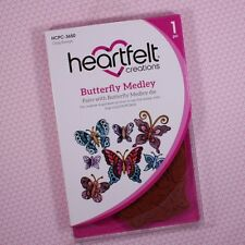 Heartfelt Creations Cling Rubber Stamp Set ~ Butterfly Medley, HCPC3650 ~ NIP