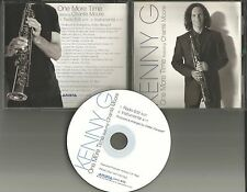 KENNY G w/ CHANTE MOORE One More Time w/ EDIT & INSTRUMENTAL PROMO DJ CD single