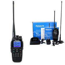 Retevis RT2 DPMR GPS Digital Funkgeräte VHF+UHF 5W 256CH VOX 2-way radio DE ship