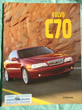 Volvo C70 brochure 1998 German text