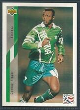UPPER DECK WORLD CUP USA 1994- #165-NIGERIA-GEORGE FINIDI