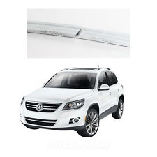 Chrome Side Window Vent Sun Visor Shade Rain Guard for Volkswagen Tiguan 2009+
