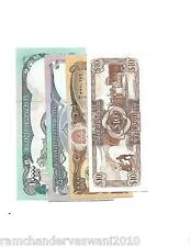 RARE NOTES OF 10,000  AFGHANI AND 3 OTHERS