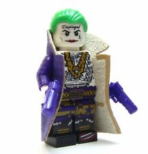 Lego custom - - - - - - Purple Jacket JOKER - -  Suicide Squad batman dc tattoo