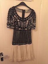 Vestido de Seda Temperley London bordados, una vez usado de Net un Porter, Reino Unido 6