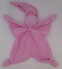 """Baby Emporio Kammi Pink Terrycloth Plush Baby Doll Security Blanket Lovey 14"""""""